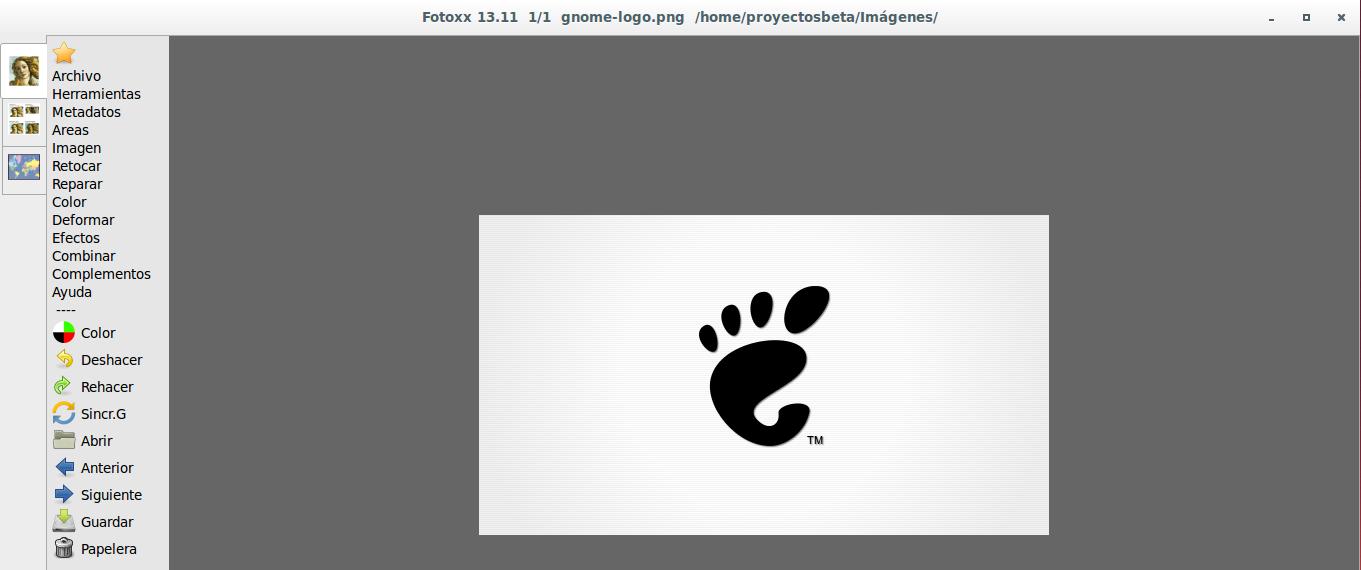 Usar Fotoxx 13.11 en Ubuntu 13.10