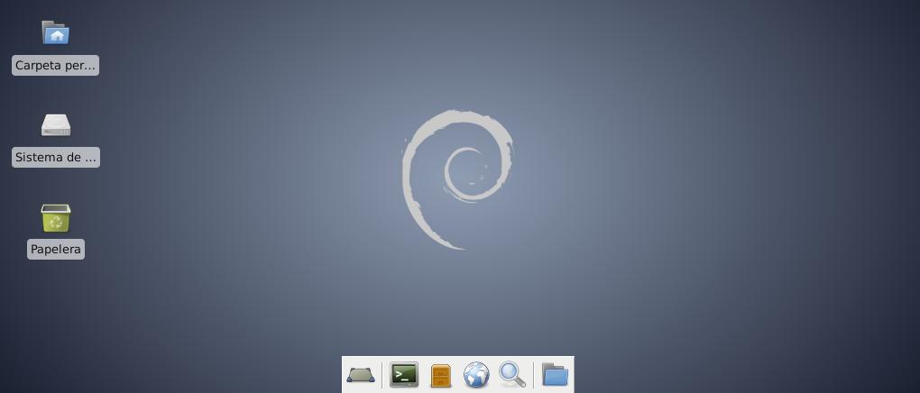 Debian Wheezy con XFCE4
