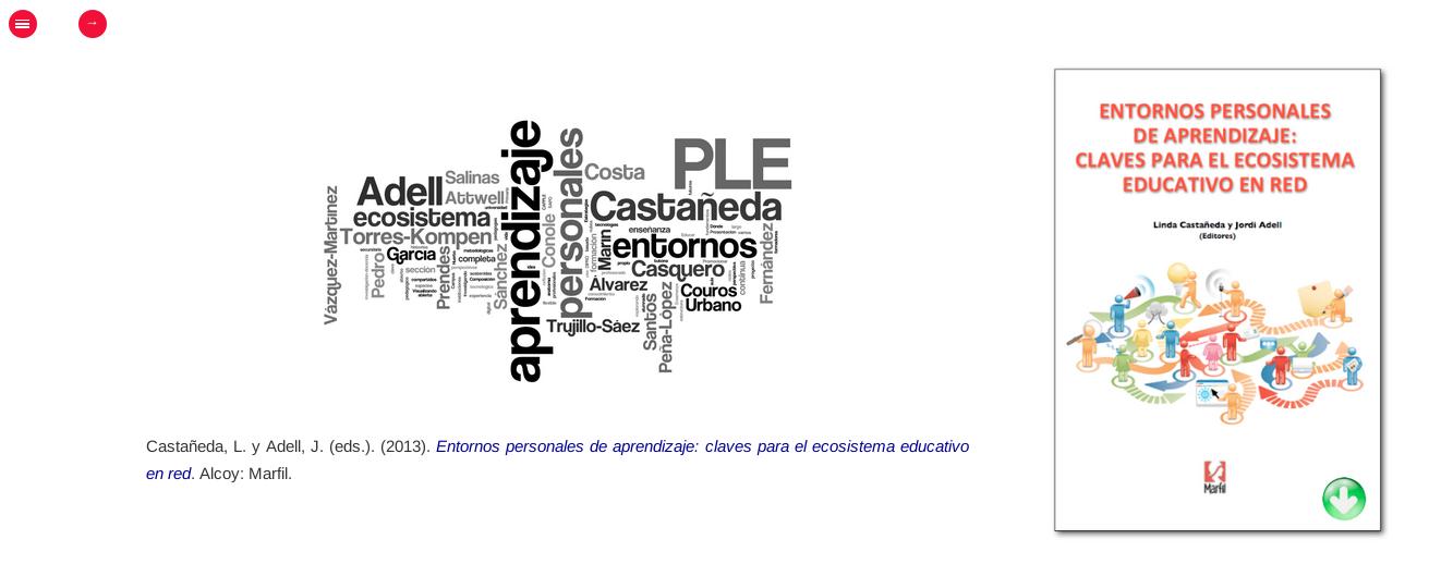 Libro Entornos personales de aprendizaje - claves para el ecosistema educativo en red