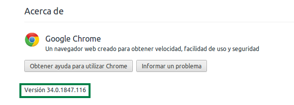 Google Chrome en Ubuntu 14.04