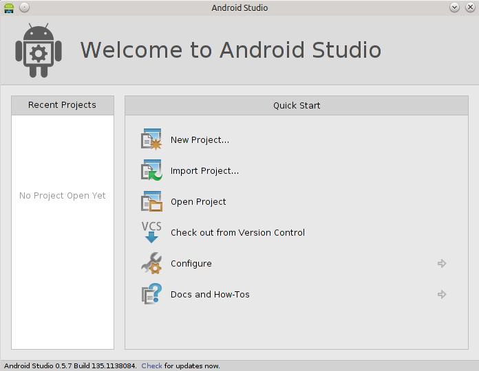 Android Studio en Ubuntu 14.04 LTS