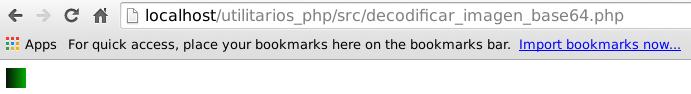 Decodificar imagen en base de 64 con php