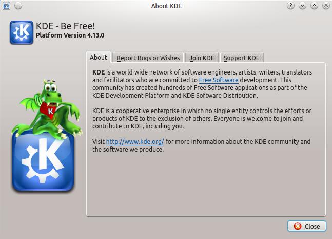 KDE 4.13.0 en Ubuntu 14.04 LTS