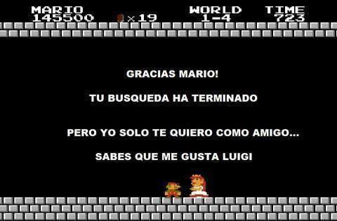 La verdad de la Princesa de Mario