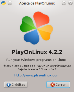 PlayonLinux 4.2.2 en Ubuntu 14.04 LTS