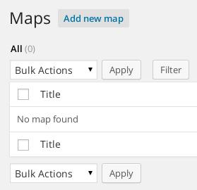 Agregar un nuevo Mapa