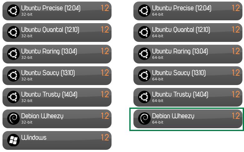 Descargar Clementine 1.2 para Debian Wheezy de 64 bits