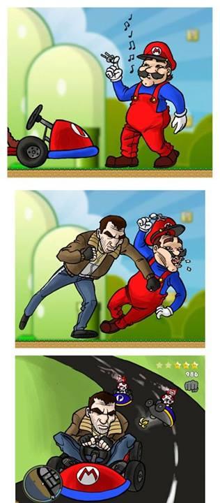 El Comienzo de Mario Kart