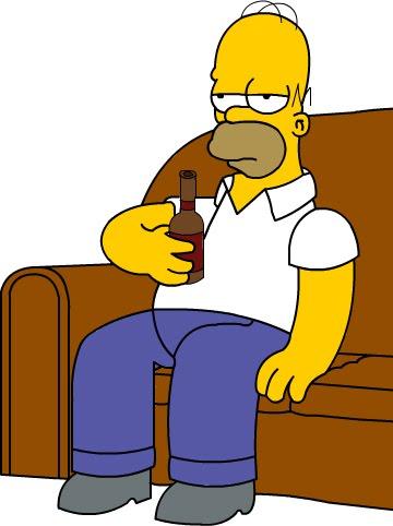 Homero aburrido