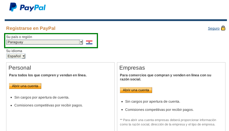 PayPal Paraguay