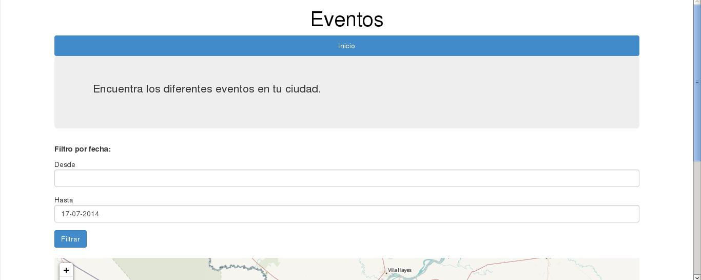 eventos.proyectosbeta.net web