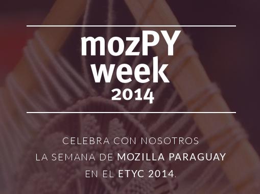 mozPY week 2014