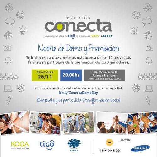 Demo Day de los premios Conecta!