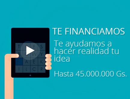 Financiamiento en Innovando Paraguay