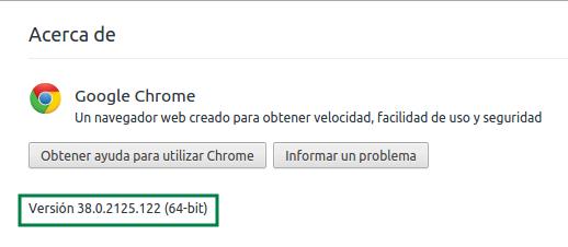 Google Chrome en Ubuntu 14.10