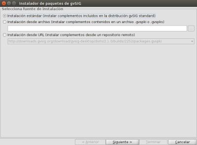 Instalar gvSIG 2.1 RC2 en Ubuntu 14.04 LTS de 64 bits