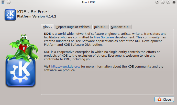 KDE 4.14.2 en Ubuntu 14.04 LTS