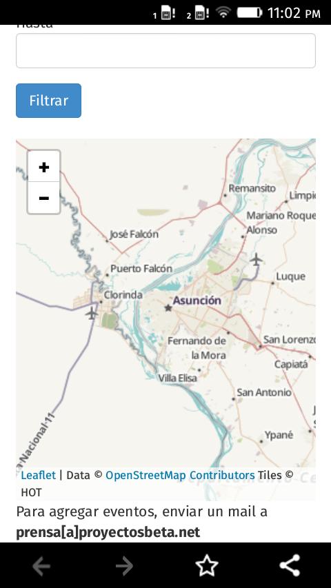 Screenshot en Firefox OS