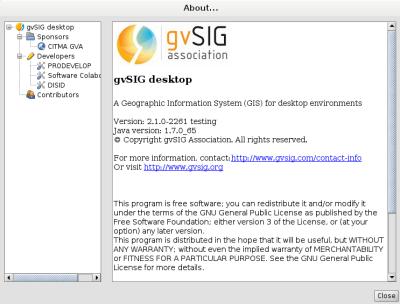 gvSIG 2.1 en Debian Wheezy de 64 bits