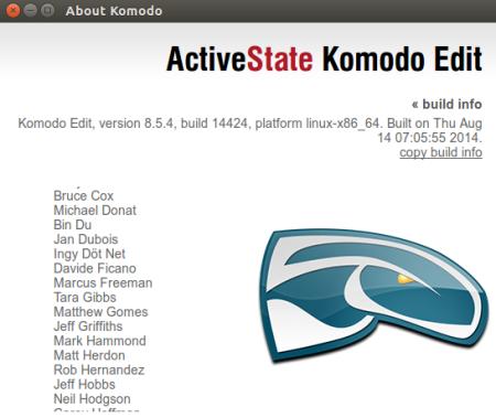 Acerca de Komodo Edit