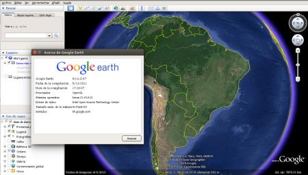 Google Earth 6 en Ubuntu 14.10