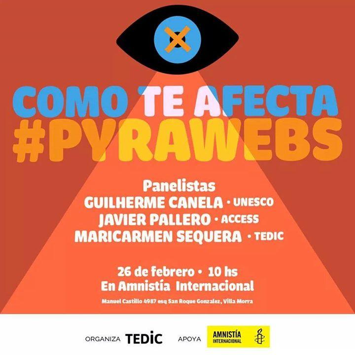 Como te afecta #pyrawebs - 26 de febrero de 2015