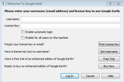 Google Earth Pro en Windows 7