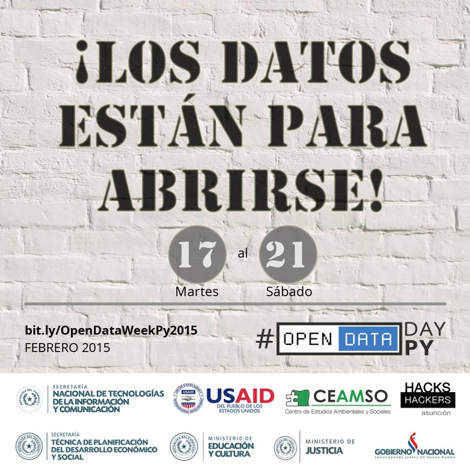 OpenDataWeek 2015 en Paraguay
