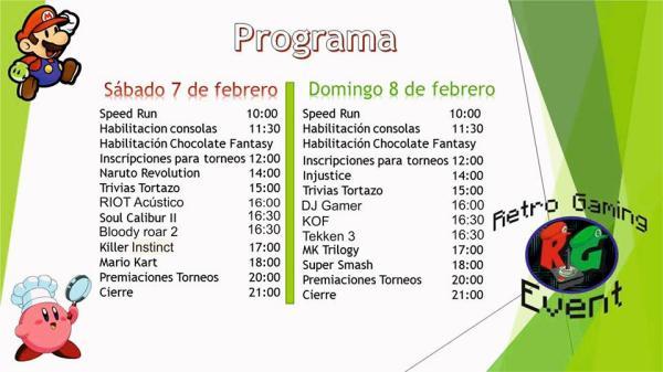 Programa Retro Gaming Event