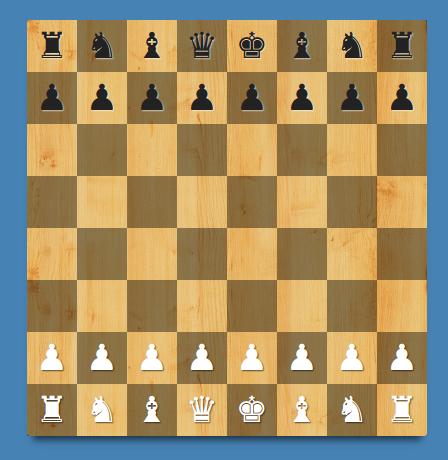 Símbolos unicode de las piezas de ajedrez