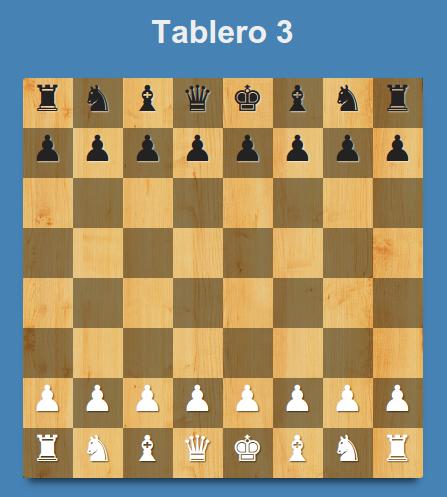 Tabla de ajedrez usando HTML y CSS3