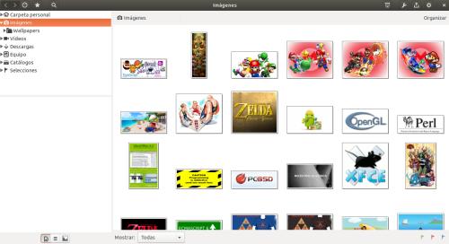 gThumb 3.3.3 en Ubuntu 14.10