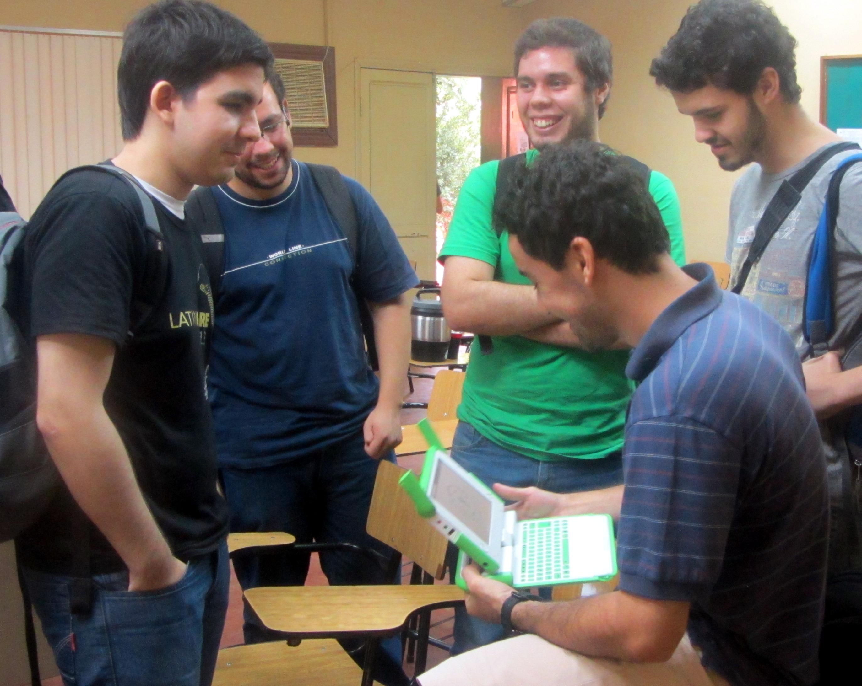 Networking de la charla informativa sobre el Google Summer of Code