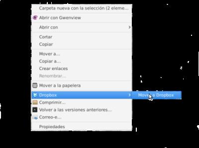 Integración de Dropbox con Thunar en Ubuntu 14.10