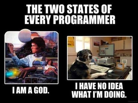 Los dos estados de cada programador