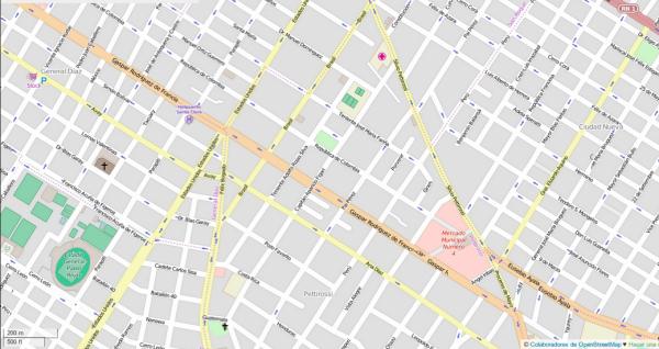 Mapa Estándar de OSM