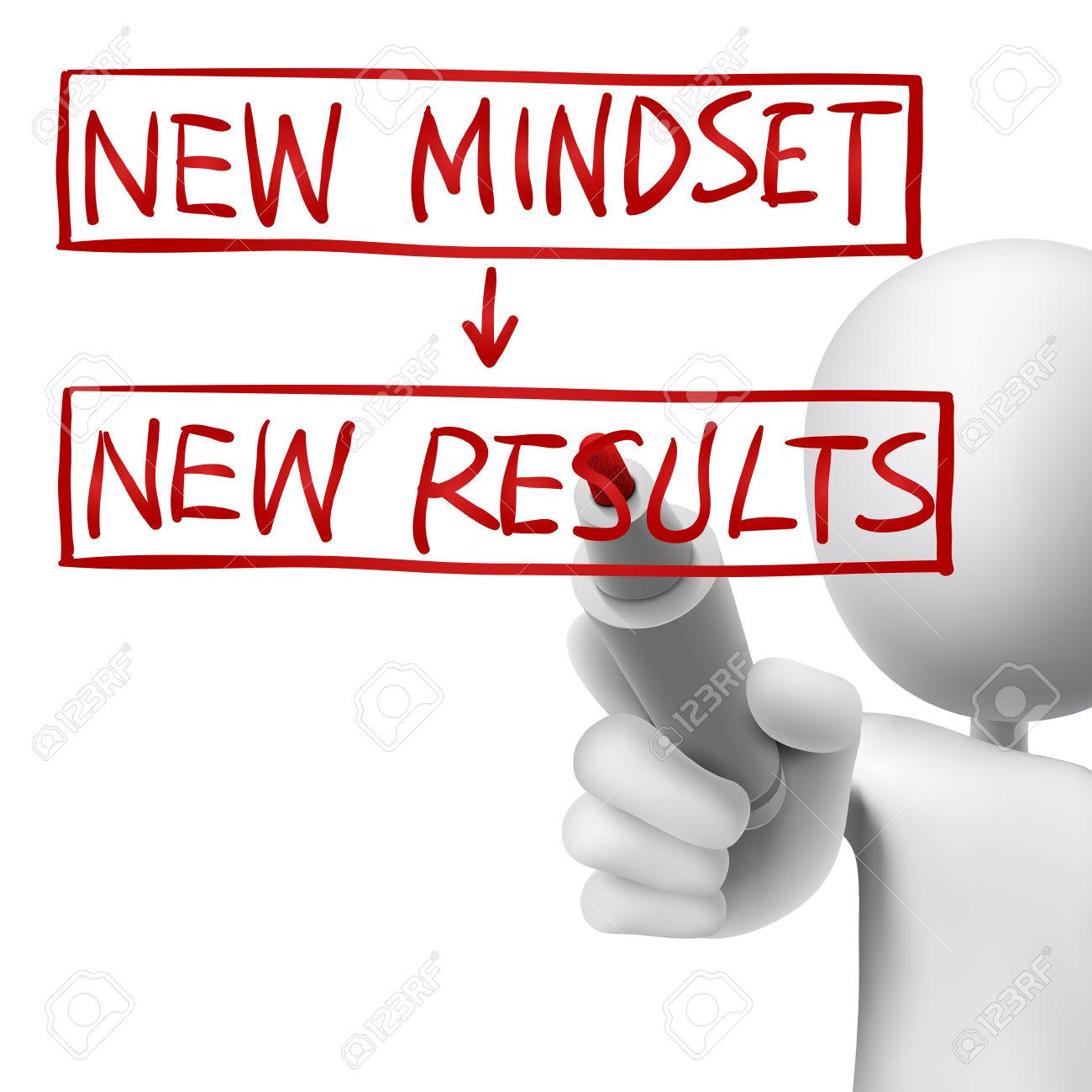 Nueva mentalidad, nuevos resultados