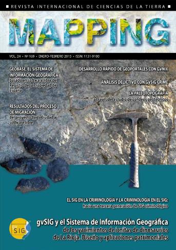 Revista Mapping número 169