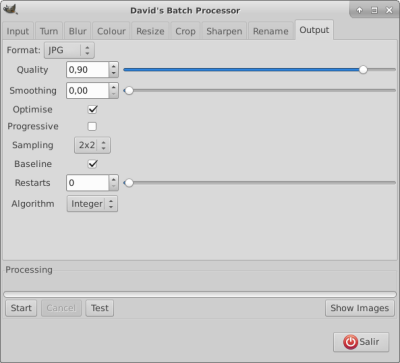 Automatizar varias imágenes con brillo automático usando GIMP