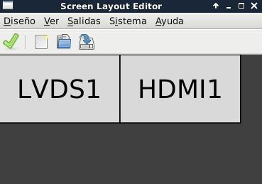 Configurar 2 pantallas en Debian Jessie