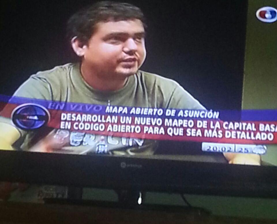 Entrevista sobre OSM Paraguay