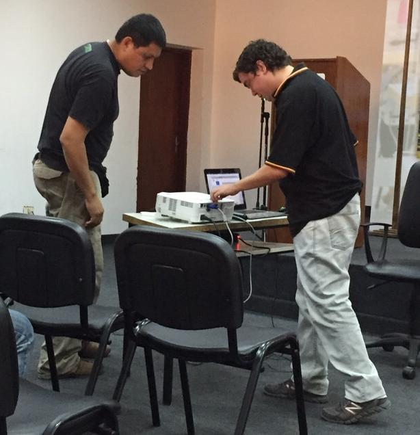 FLISoL Asunción 2015 - OSM Paraguay