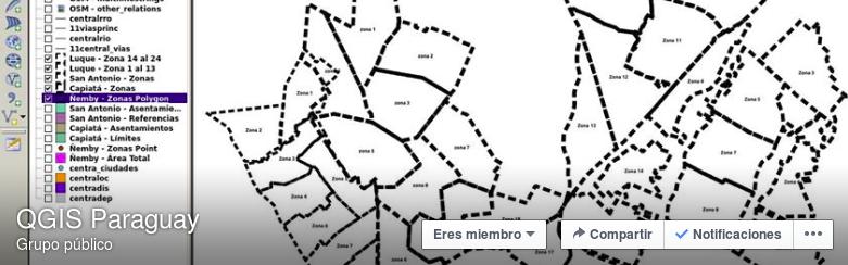 QGIS Paraguay en Facebook