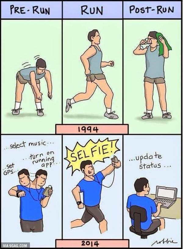 Deporte de antes y de ahora