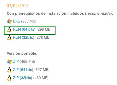 Descargar gvSIG 2.1 de 64 bits