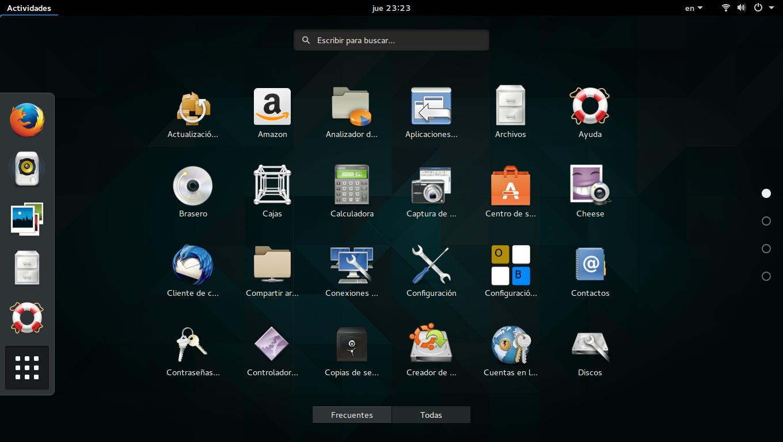 Gnome 3.16 en Ubuntu 15.04