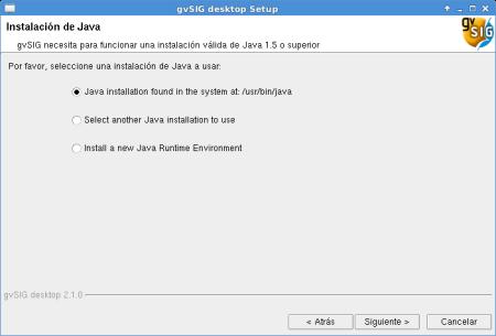 Instalar gvSIG 2.1 Debian Jessie de 64 bits