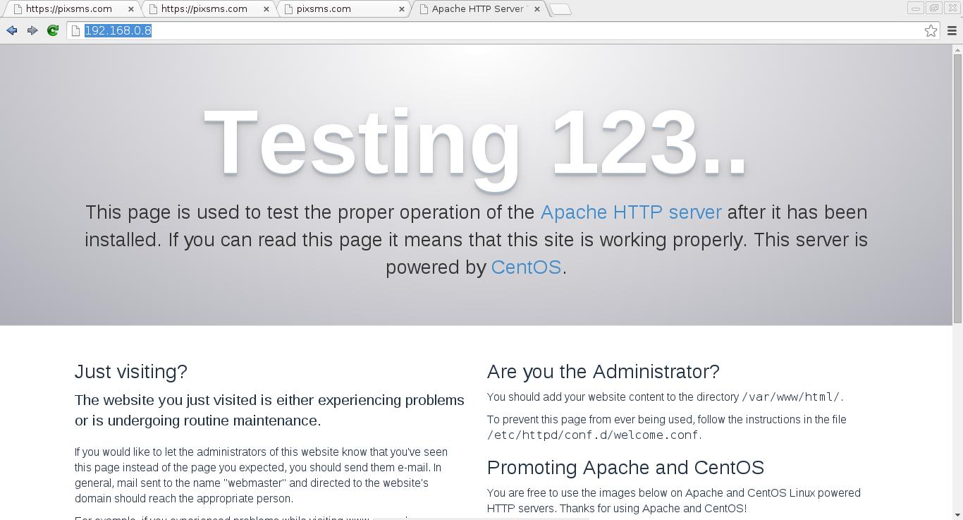 Instalar httpd con ssl en CentOS 7_1