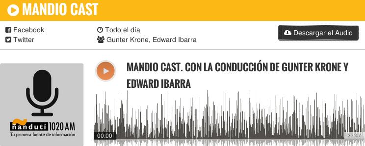Mandio Cast