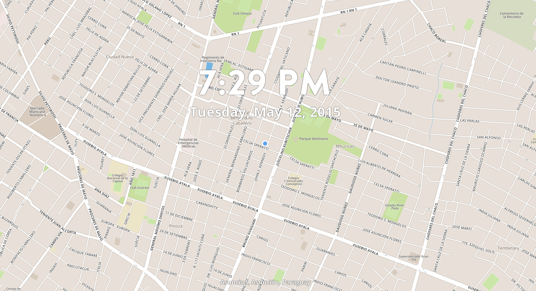 MapTab - extension en Google Chrome para visualizar mapas Mapbox